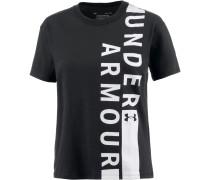 Fashion T-Shirt Damen, black-white