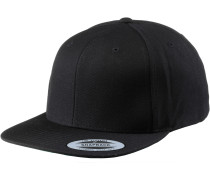 Classic Snapback Cap, schwarz