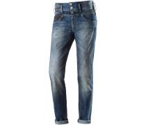 Raya Boyfriend Jeans Damen, blau