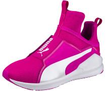 Fierce Core Fitnessschuhe Damen, neonpink/weiß