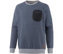 Pocket Sweatshirt Herren, blau