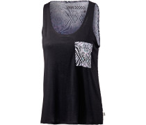 Kaleidoscope Pocket Tanktop Damen, schwarz/allover