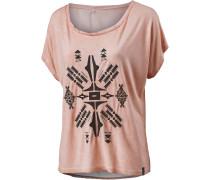 Summer Heart T-Shirt Damen, rosa