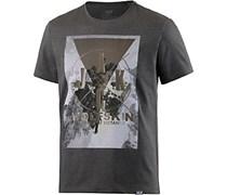 Jack Wolfskin Masterton T-Shirt Herren, grau