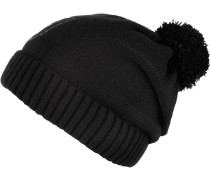 FionaSwarovski Bommelmütze Damen, schwarz