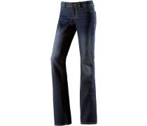 Issy Bootcut Jeans Damen, blau