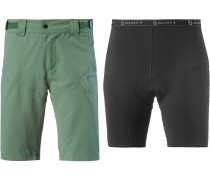Trail 50 Bike Shorts Herren, dark ivy green