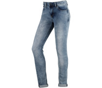 Sweat Jeans Damen, blau