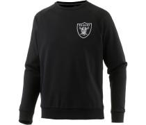 Oakland Raiders Sweatshirt Herren, schwarz
