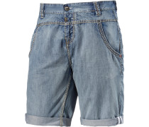 Stuad Jeansshorts Herren, light washed denim