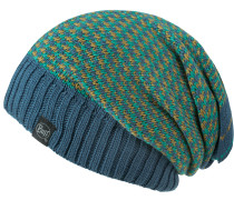 Knitted Neckwarmer Hat Loop, Zile Blue