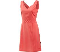 Wahia Trägerkleid Damen, rosa