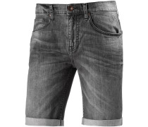 Denim Short Jeansshorts Herren, grau