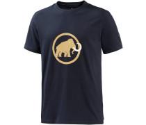 Logo T-Shirt Herren, blau