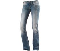 Piper Straight Fit Jeans Damen, blau