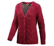 Strickjacke Damen, rot