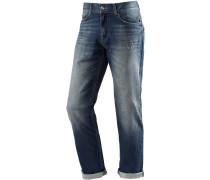 Straight Fit Jeans Herren, blau