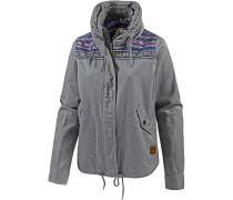 Winter Jacke Damen, grau