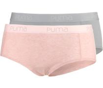 Panty Damen, rosa/grau