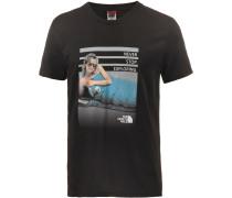 Celebration Easy T-Shirt Herren, tnf black