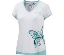 Skomer Printshirt Damen, weiß