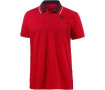 Essential Poloshirt Herren, rot