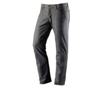 Standard Straight Fit Jeans Herren, grau