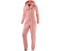 Blaumann V Jumpsuit Damen, rosa melange