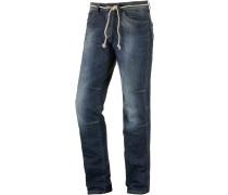 Papesto Straight Fit Jeans Herren, blau