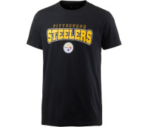 PITTSBURGH STEELERS T-Shirt Herren, schwarz