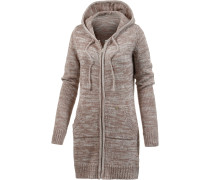 Strickjacke Damen, beige