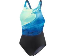 Parley for the Oceans Badeanzug Damen, blau