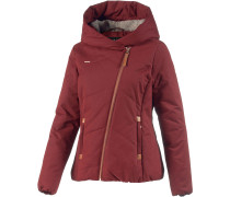 Flash Winterjacke Damen, rot