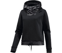 Advanced Hoodie Damen, schwarz