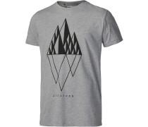 TSM Gem Printshirt Herren, grau