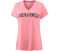 Threadborne V Graphic T-Shirt Damen, CAPE CORAL/MIDNIGHT NAVY