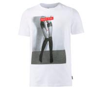T-Shirt Herren, weiß