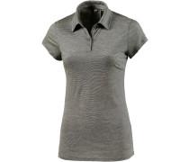 Sphere Poloshirt Damen, oliv/weiß/gestreift