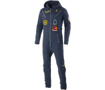 Aviator Jumpsuit, blau