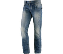 Thorsten Straight Fit Jeans Herren, blau