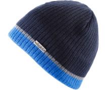 DUVAL MERINO Beanie, blau