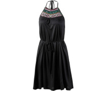 Bahama Neckholderkleid Damen, schwarz