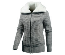 Strickjacke Damen, grau