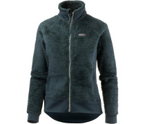 Monkey Fleecejacke Damen, blue spruce