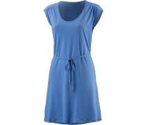 Lotta Kurzarmkleid Damen, blau