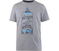 Open Water T-Shirt Herren, grau