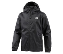 Quest Regenjacke Herren, tnf black