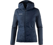 Aenergy IN Hybrid Fleecejacke Damen, blau