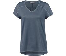 Dayspring V-Shirt Damen, blue wing teal-dusty blue