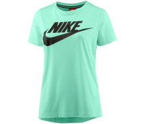 Essential High Brand Read T-Shirt Damen, MINT FOAM/MINT FOAM/BLACK
